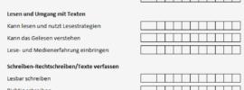 Übertritt Bremen Deutsch Kompetenzraster