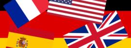 Fahnen verschiedener Länder