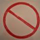 Zeichnung Durchgang verboten