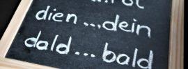 Wörter mit verdrehten Buchstaben - Legasthenie