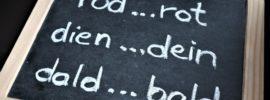 Verdrehte Buchstaben - Legasthenie Breitformat